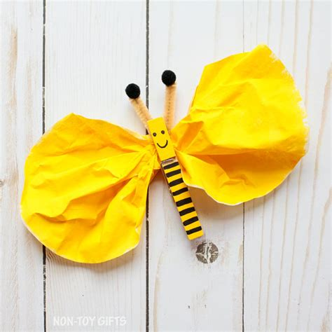 bee crafts for clothespin bee craft for non gifts