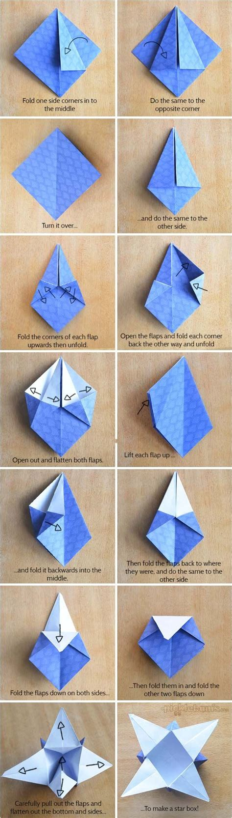 Origami Paper Tutorials And Origami On