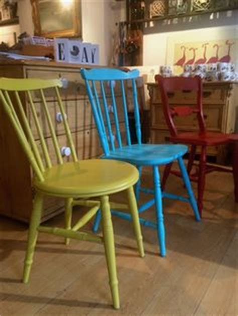 autentico chalk paint bright turquoise painted chairs in autentico bird sailors blue