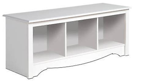 chalk paint exeter ontario new white prepac large cubbie bench 4820 storage usd 114