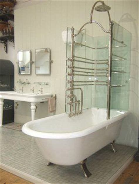 roll top bath and shower glass shower roll top bath bathrooms the o