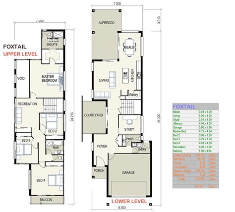 home plans for narrow lot how to the right townhouse floor plans