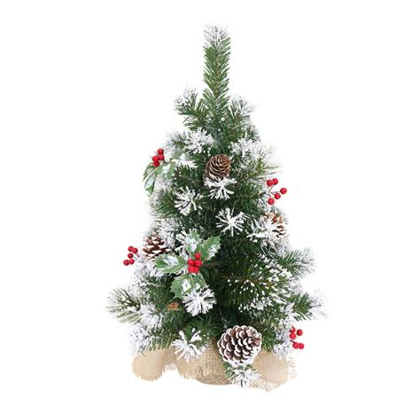 mini decorated tree decorated artificial mini tree 60cm 3 styles
