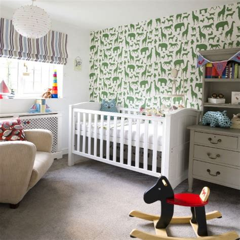 nursery decorating ideas uk add a feature wall nursery decorating ideas