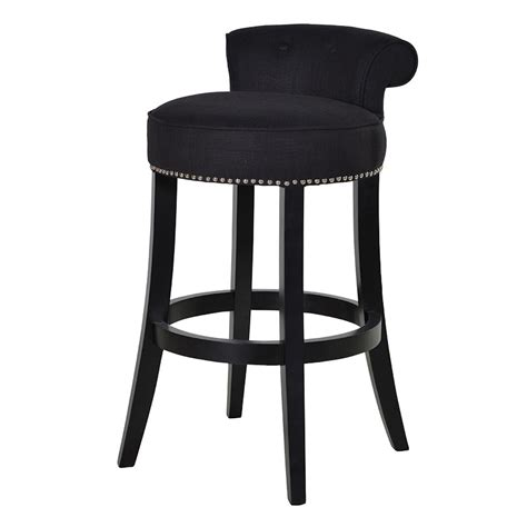 Boutique Black Bar Stool