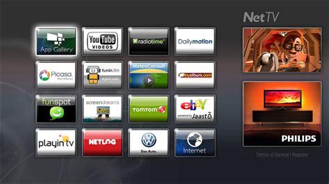 net tv philips sharp and loewe to use net tv flatpanelshd