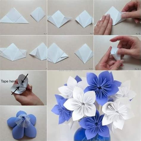 diy paper craft diy paper flower projects upcycle