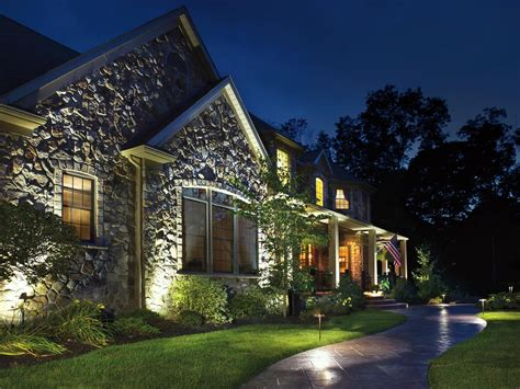 outdoor lighting home landscape lighting ideas gorgeous lighting to accentuate