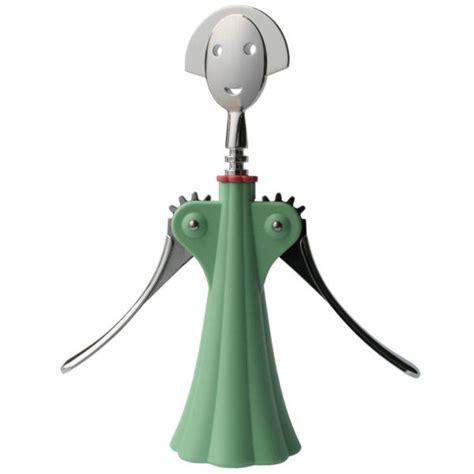 Childrens Kitchen Knives alessi corkscrew anna g by alessandro mendini green