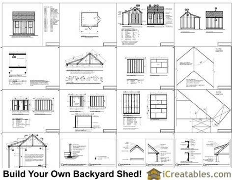 shed with porch plans free 10x12 colonial shed with porch plans icreatables sheds