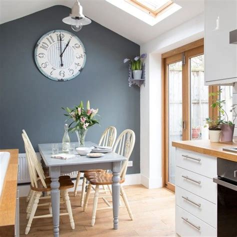 accent color for white and gray kitchen kitchen feature wall on dulux paint dulux
