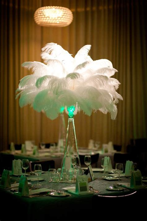 feathers for centerpieces flower and event decor ostrich feather centerpieces