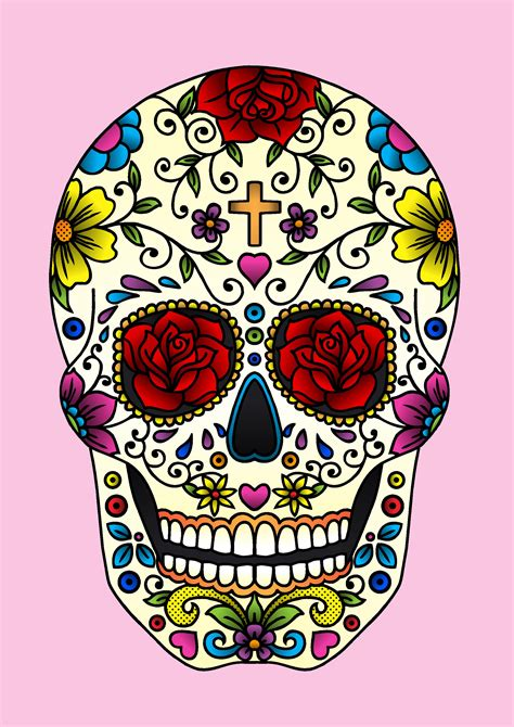for sugar skull sugar skull 187 jadeboylan on juicycanvas