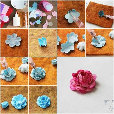 how to make from flowers handmade flowers tutorial modern magazin