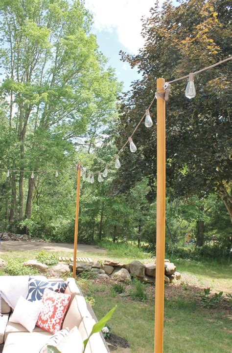 poles to hang string lights pole for hanging lights 28 images hanging lights on a