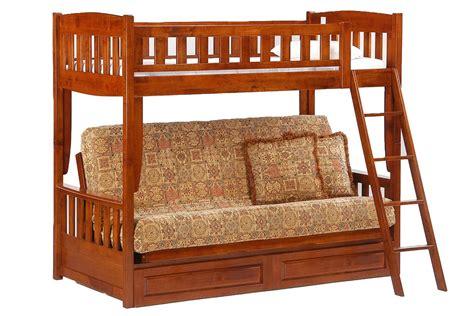 cinnamon bunk bed futon bunk bed cherry cinnamon bunk the