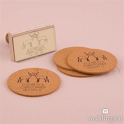 personalised rubber sts australia wedding favours australia