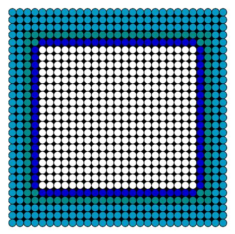 perler bead patterns easy picture frame perler bead pattern bead sprites simple