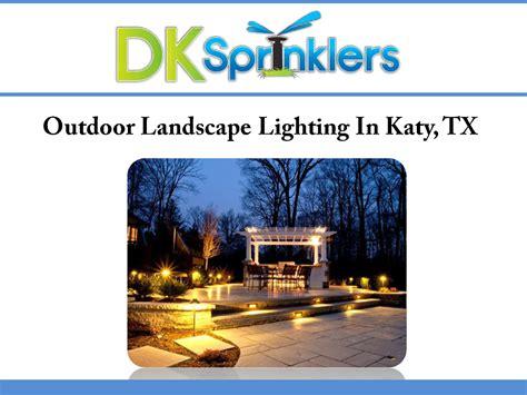 landscape lighting ppt outdoor landscape lighting in katy tx authorstream