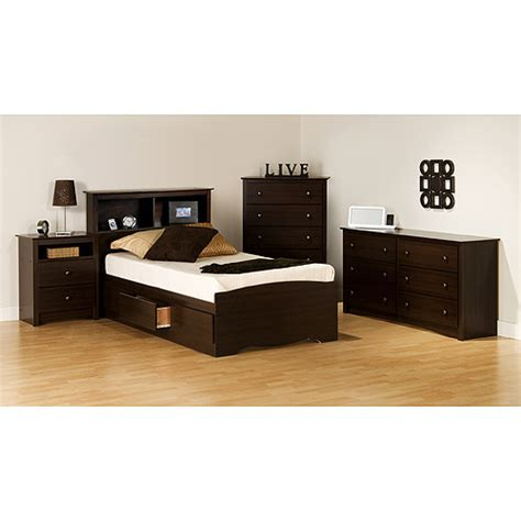 walmart bedroom furniture sets prepac edenvale collection 5 bedroom set walmart