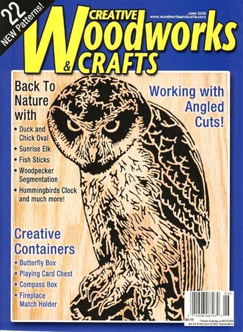 woodworks magazine creative woodworks crafts june 2008 pdf