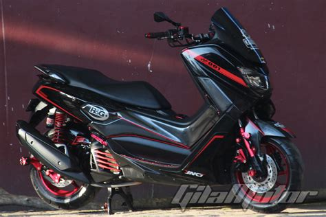 Modifikasi Motor Nmax by Modifikasi Yamaha Nmax Kalimantan Ogah Til Pasaran