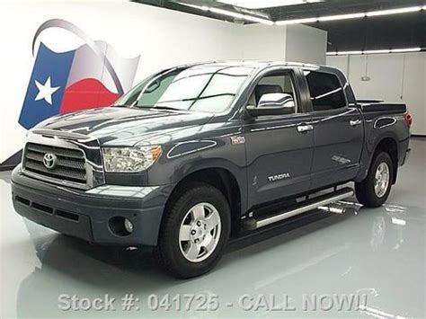 manual cars for sale 2008 toyota tundramax seat position control find used 2008 toyota tundra limited crew max 4x4 trd offroad 55k texas direct auto in stafford