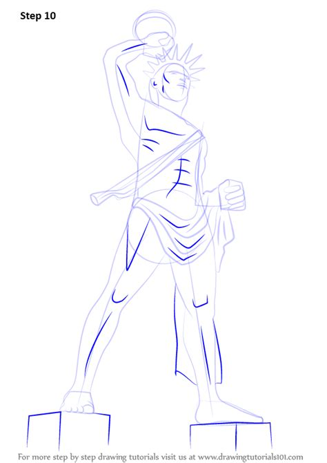 learn how to draw colossus of statues by