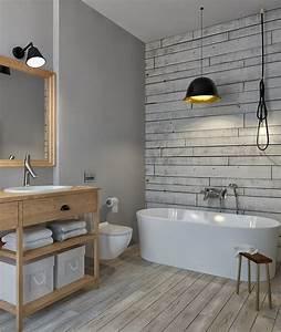 Badezimmer Fliesen Ideen Grau : badezimmer ohne fliesen ideen f r fliesenfreie wandgestaltung ~ Markanthonyermac.com Haus und Dekorationen
