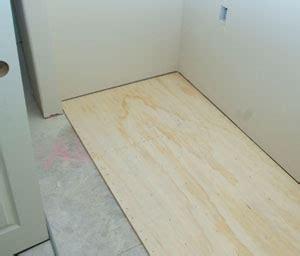 install plywood underlayment for vinyl flooring