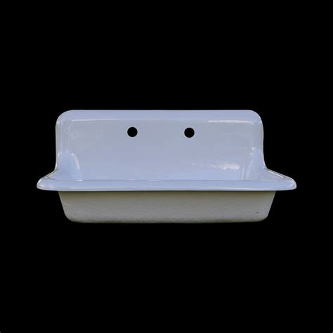 reproduction single bowl farmhouse drainboard sink model
