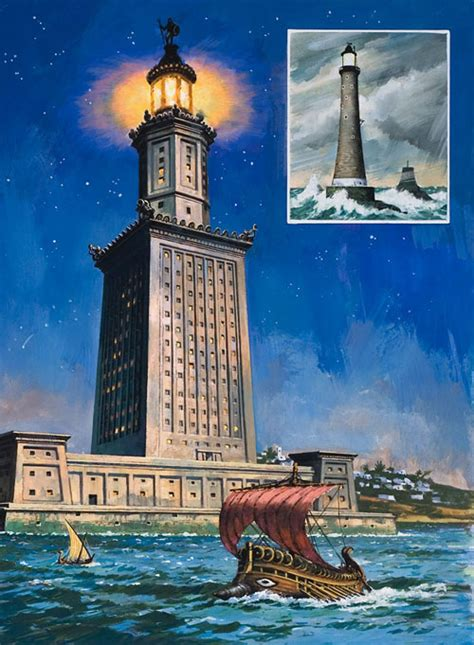 alexandria light and power the 7th ancient of the world the ancient seven