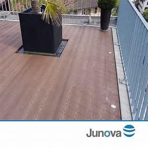 Terrassendielen Günstig Online : terrassendiele braun wpc dielen bei junova g nstig kaufen ~ Markanthonyermac.com Haus und Dekorationen