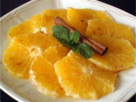 recettes de dessert aux fruits et orange