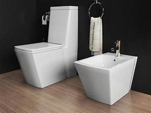 Stand Wc Eckig : stand wc stand bidet wc sitz kombination kb398 ebay ~ Markanthonyermac.com Haus und Dekorationen