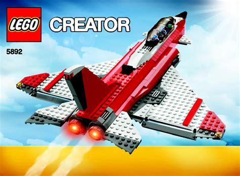 Lego Mini Boat Instructions by Lego Sonic Boom Jet Boat Plain 5892 Set Jet