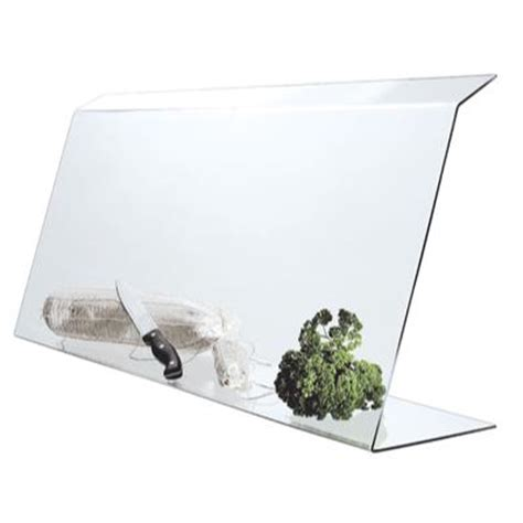 vitrine de protection plexi