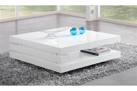 table basse de salon blanc design ezooq