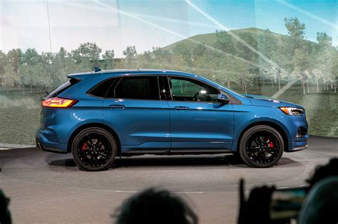 2019 Ford Edge Goes St, Gets Midcycle Refresh