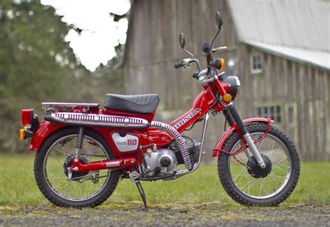 373-mile 1983 Honda Trail 110 For Sale On Bat Auctions