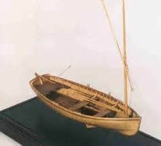 Sailing Catamaran Design Theory by Old Vintage Wooden Model Skiff Fishing Boat Hand Made 20