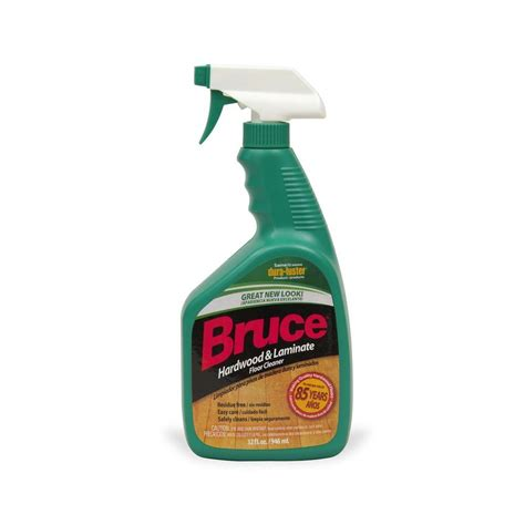 bruce 32 oz hardwood and laminate floor cleaner trigger spray ws109 the home depot