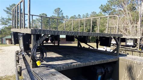 bowfishing platform gator trax boats