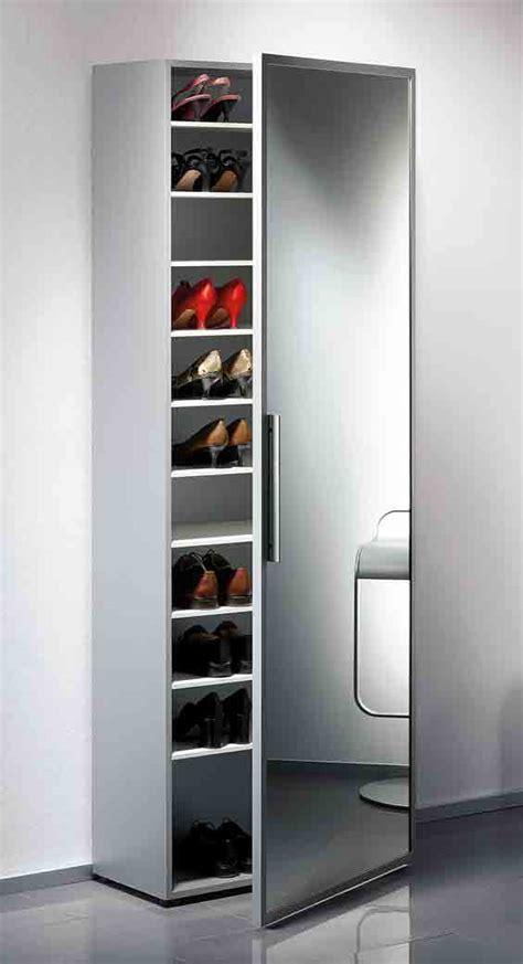 armoire a chaussures avec miroir sedgu