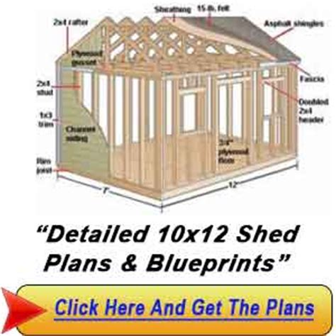 shed plans vip10 215 12 sheds garden shed plans by lr