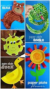 Creative Paper Plate Crafts for Kids to Make | Paper plate ...
