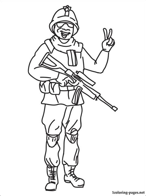 Opblaasboot Paw Patrol by Soldier Coloring Page Coloring Pages