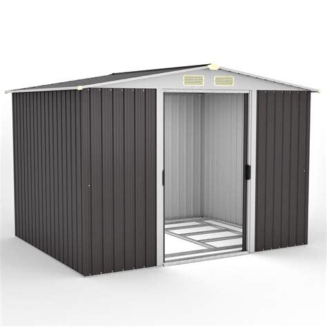 Rotfuchs® Metall Gerätehaus Geräteschuppen Gartenschuppen