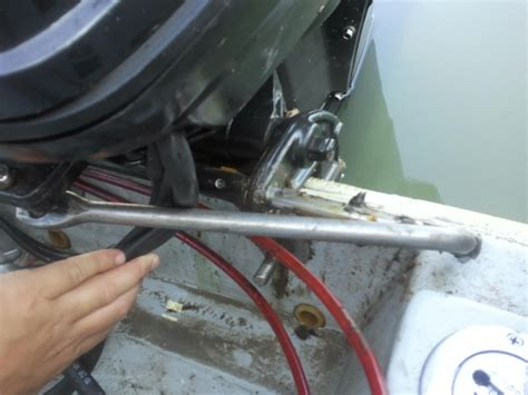 Boat Steering Cable Stuck In Tube by Help Steering Rod Stuck In Steering Tube Page 1 Iboats