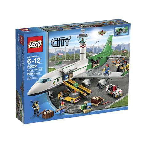Amazoncom LEGO City 60022 Cargo Terminal Toy Building